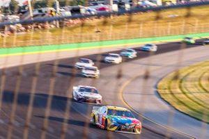 Kyle Busch, Joe Gibbs Racing, Toyota Camry M&M's Toyota Camry, Denny Hamlin, Joe Gibbs Racing, Toyota Camry FedEx Freight