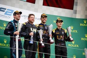 Guanyu Zhou, UNI Virtuosi Racing and Nicholas Latifi, Dams and Guanyu Zhou, UNI Virtuosi Racing