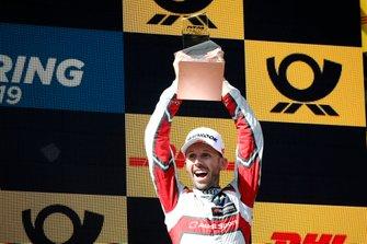 Podium: le troisième René Rast, Audi Sport Team Rosberg