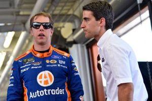 Brad Keselowski, Team Penske, Ford Mustang Autotrader and Travis Geisler