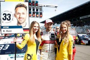 René Rast, Audi Sport Team Rosberg ve grid kızları