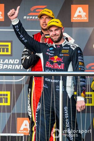 Podium: second place Shane van Gisbergen, Triple Eight Race Engineering Holden