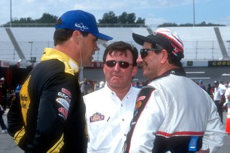 Michael Waltrip, Richard Childress and Dale Earnhardt