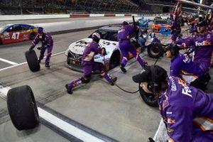 Denny Hamlin, Joe Gibbs Racing, Toyota Camry FedEx Darlington Throwback