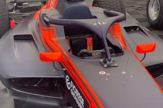 Посвящение Антуану Юберу на автомобиле Рихарда Версхора, MP Motorsport