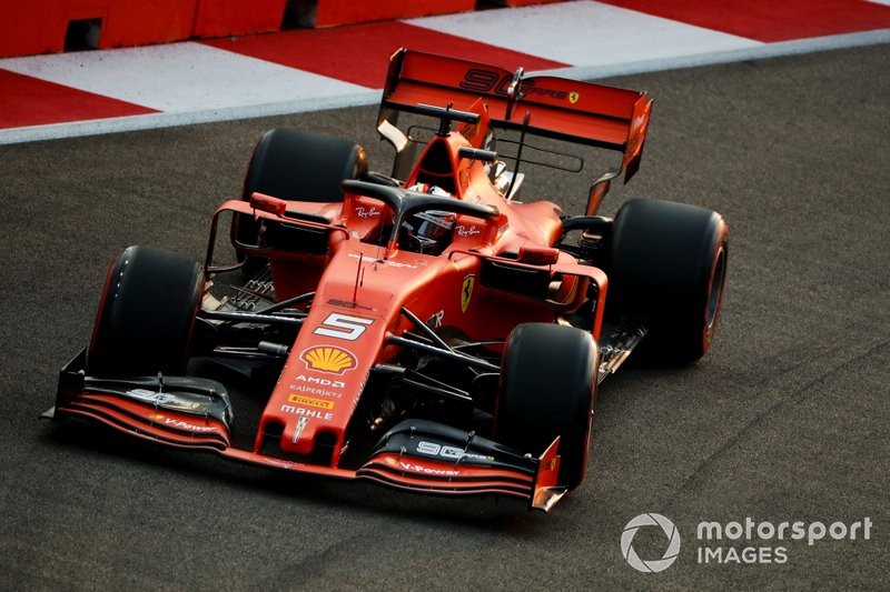 1 - Sebastian Vettel, Ferrari SF90