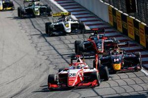 Robert Shwartzman, PREMA Racing and Yuki Tsunoda, Jenzer Motorsport