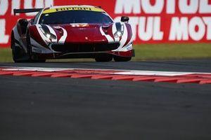 #62 Weathertech Racing, Ferrari 488 GTE - Cooper MacNeil, Toni Vilander, Robert Smith