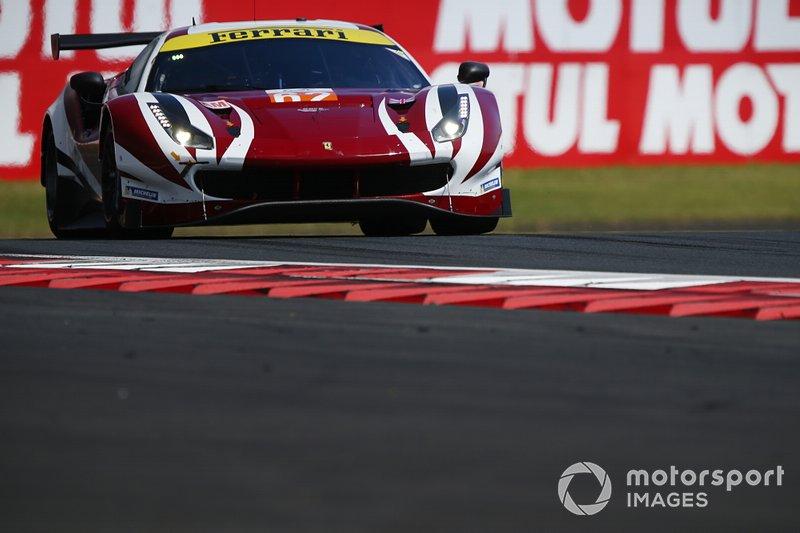 Купер Макнил, Тони Виландер и Роберт Смит, Weathertech Racing, Ferrari 488 GTE Evo (№62)