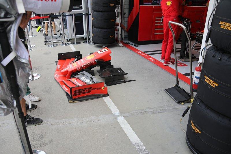 Alerón delantero del Ferrari SF90