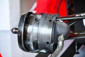 Brake duct details