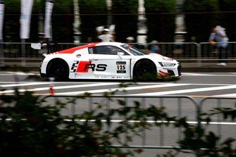 #125 Audi Sport Team Absolute Racing Audi R8 LMS GT3 Evo: Markus Winkelhock, Christopher Haase, Christopher Mies