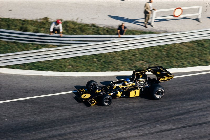 Ronnie Peterson, Lotus 72E Ford