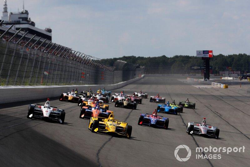 IndyCar: Título deve ficar entre Penske e Chip Ganassi