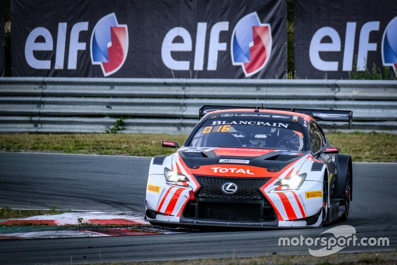 #23 Tech 1 Racing Lexus RCF GT3: Aurélien Panis, Jack Hawksworth