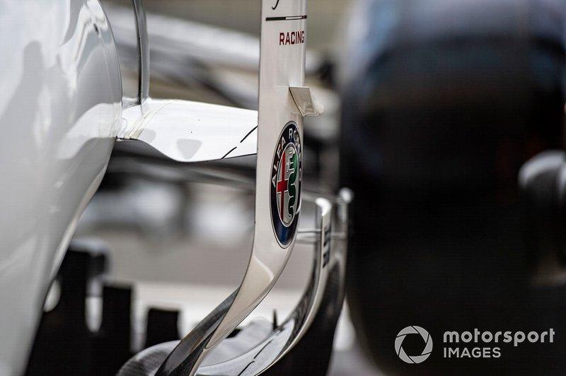 Alfa Romeo C38: Luftleitbleche