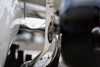 Aero detail on Alfa Romeo Racing C38