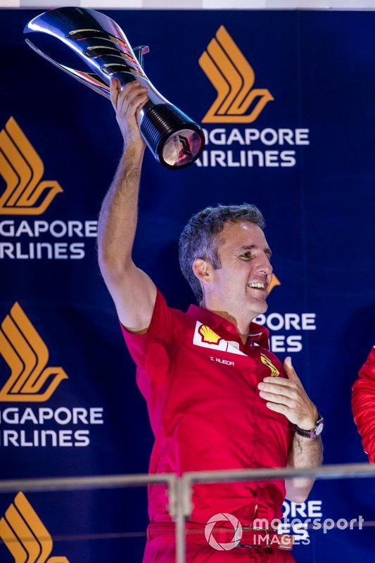 Iñaki Rueda, estrategista da Ferrari