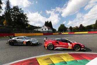 #51 Luzich Racing Ferrari F488 GTE: Alessandro Pier Guidi, Nicklas Nielsen, Fabien Lavergne,#77 Dempsey-Proton Racing Porsche 911 RSR: Christian Ried, Riccardo Pera, Matteo Cairoli