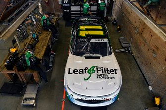 Justin Haley, Kaulig Racing, Chevrolet Camaro LeafFilter Gutter Protection