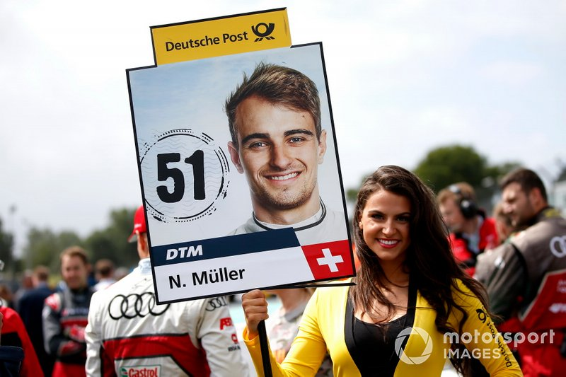 Nico Müller, Audi Sport Team Abt Sportsline grid kızı