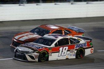Kyle Busch, Joe Gibbs Racing, Toyota Camry Snickers Throwback Kurt Busch, Chip Ganassi Racing, Chevrolet Camaro Chevrolet Accessories