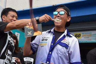 #60 K-Tunes Racing LM Corsa Lexus RC F GT3: Hiroki Yoshimoto