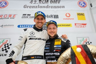 Podium: Winner #6 BLACK FALCON Mercedes-AMG GT3: Patrick Assenheimer, Manuel Metzger