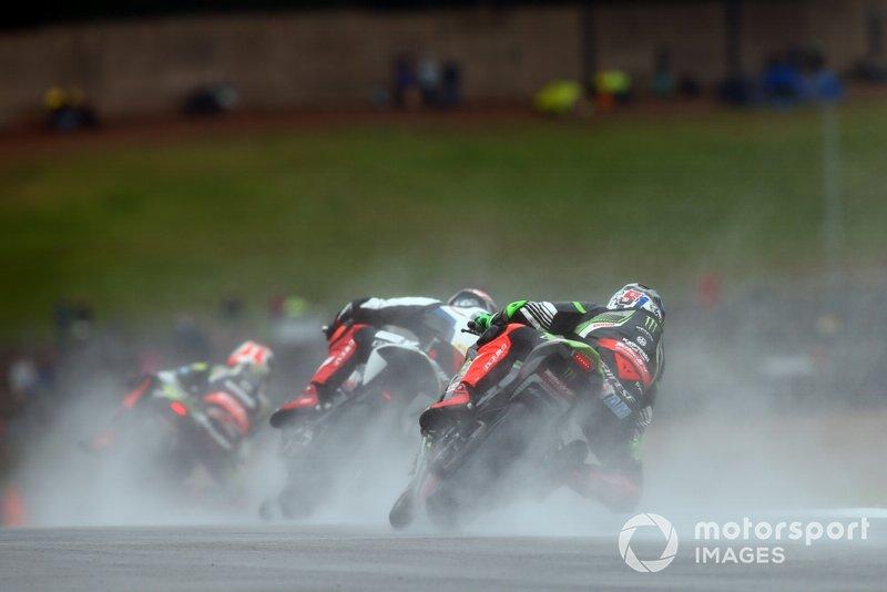 Leon Haslam, Kawasaki Racing Team, Tom Sykes, BMW Motorrad WorldSBK Team, Jonathan Rea, Kawasaki Racing Team