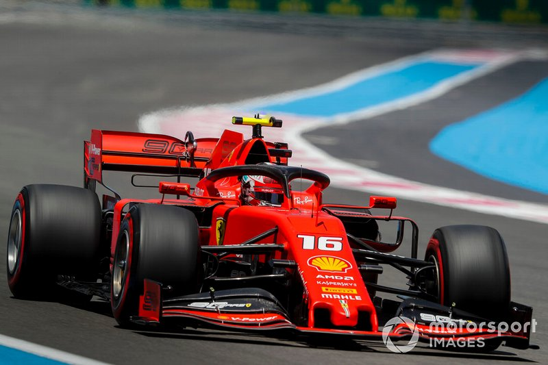 Ferrari asks Leclerc to up his pace