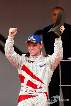 Podium: third place Larry ten Voorde, MRS GT-Racing