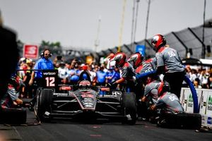 Will Power, Team Penske Chevrolet, Pit Stop Competition