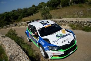 Corrado Pinzano, Marco Zegna, Skoda Fabia R5, New Driver's team