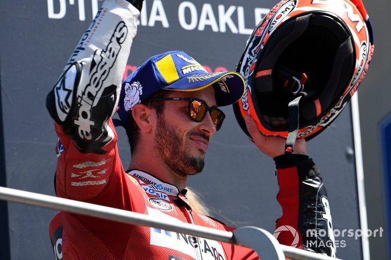 Podium: third place Andrea Dovizioso, Ducati Team