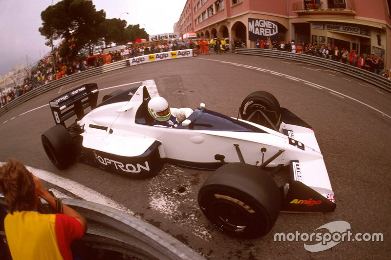 Modena took third, securing Brabham's last ever F1 podium