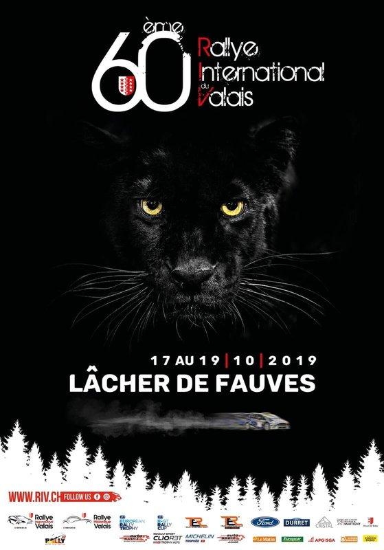 Rallye International du Valais, locandina 2019