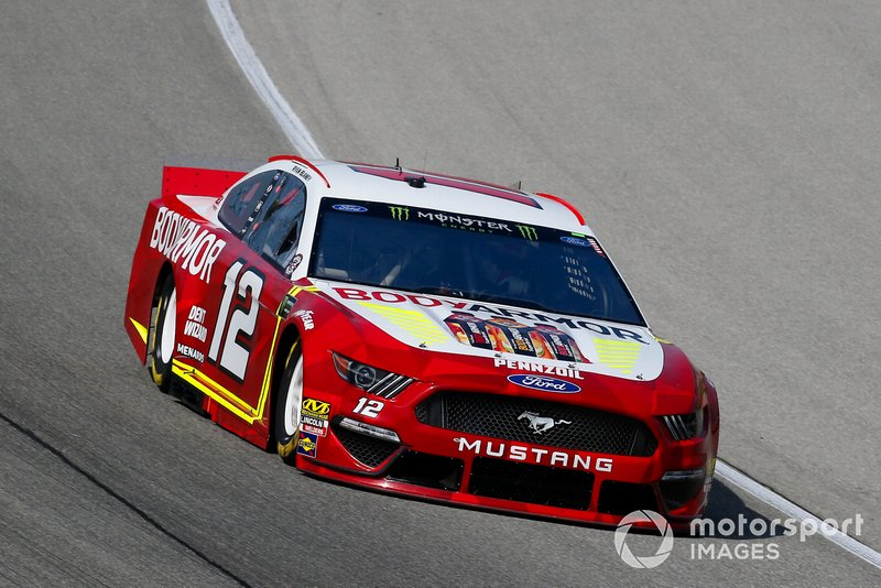 6. Ryan Blaney, Team Penske, Ford Mustang