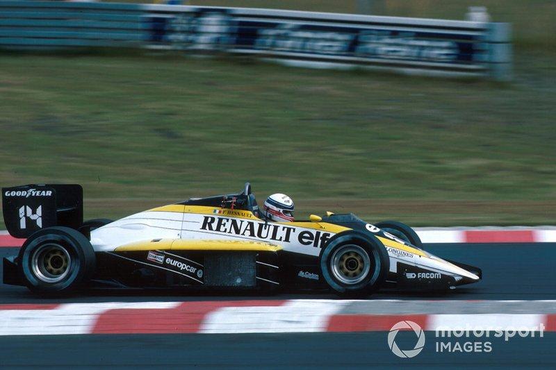 Francois Hesnault - 19 grandes premios