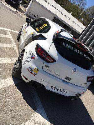 Albert Legutko, Renault Clio Cup Central Europe