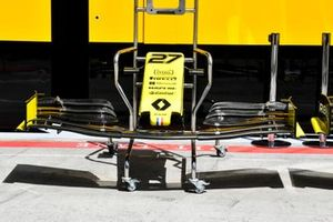 L'aileron avant de la Renault R.S.19