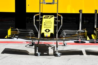 Front wing of Renault R.S.19