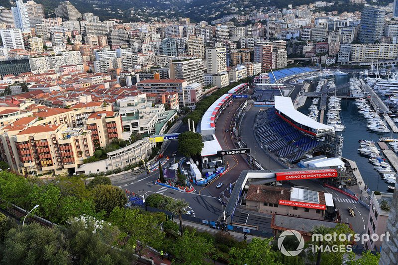 A view of the Monaco circuit