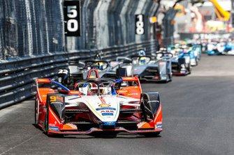 Pascal Wehrlein, Mahindra Racing, M5 Electro Oliver Rowland, Nissan e.Dams, Nissan IMO1