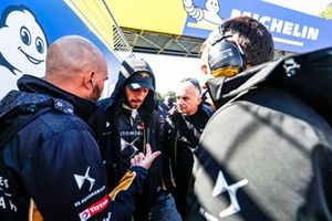 Jean-Eric Vergne, DS TECHEETAH, on the grid with engineers