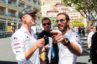 Andre Lotterer, DS TECHEETAH, Jean-Eric Vergne, DS TECHEETAH, on a track walk