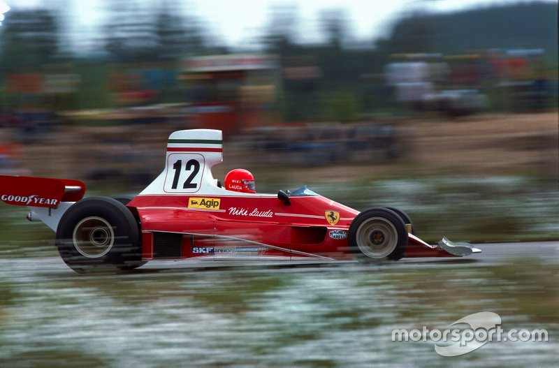 Niki Lauda, Ferrari, Swedish Grand Prix 1975
