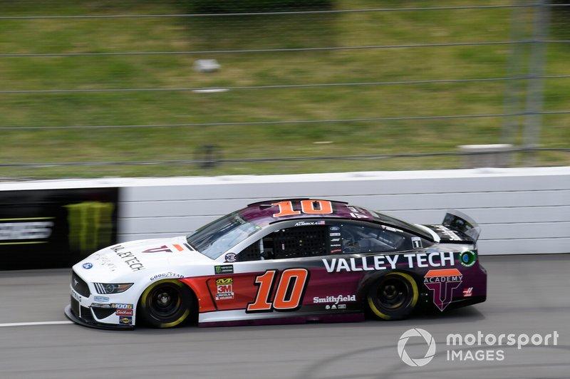 10. Aric Almirola, Stewart-Haas Racing, Ford Mustang