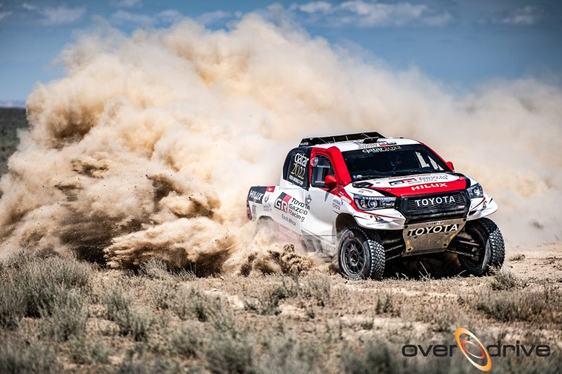 Nasser Al-Attiyah, Mathieu Baumel, Toyota Hilux