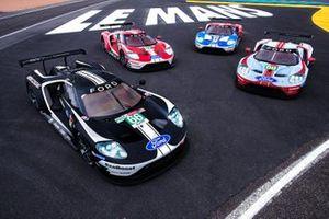 Ford GT livery's voor de 24 uur van Le Mans