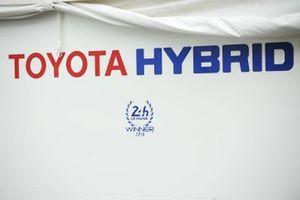 Toyota Gazoo Racing signage